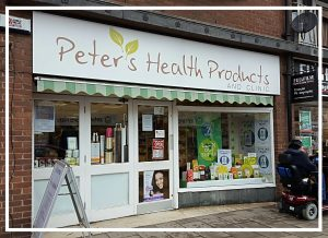 Peter's Health Products - 2017 Raffle Donor