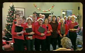 Who are sing! bentley heath? - Bringing festive cheer