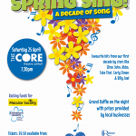 Spring Sing! 2020 - A Decade of Song Poster